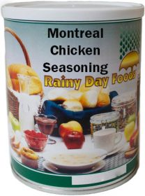 Montreal chicken  seasoning for food storage #2.5 can 16 oz.