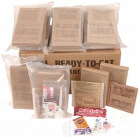 military ready-to-eat meals
