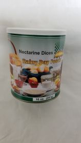 Dehydrated Nectarine Dices - G105 - 10 oz #2.5 can
