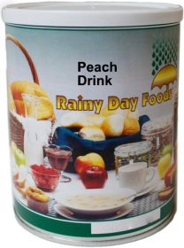 #2.5 can dehdyrated peach drink-25 oz