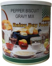 Pepper Biscuit Gravy - I049 - 44 oz. #10 can
