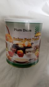 Dehydrated Plum Dices - I071- 40 oz #10 can