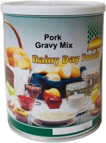 #2.5 can pork gravy mix 15 oz.