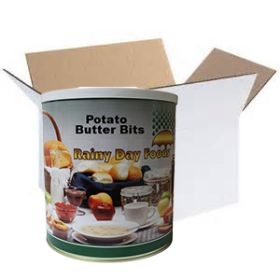 Rainy Day Foods dehydrated potato butter bits #10 case