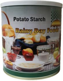Rainy Day Foods potato starch #10 can