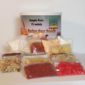 Sample Pack - K075 - 32 oz. #10 can