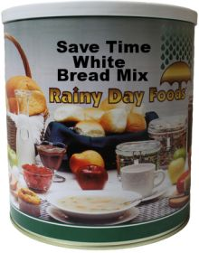 Rainy Day Foods Save Time White Bread Mix #10 can 68 oz.