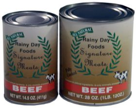 Rainy Day Foods signature beef chunks