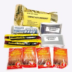 Compact Auto Emergency Kit - S004