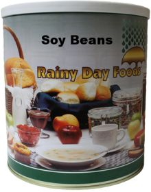 #10 can soy beans 84 oz.