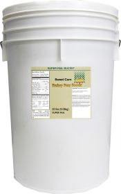Dehydrated sweet corn in a 6 gallon super pail