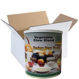 Dehdyrated vegetable stew blend in #2.5 case