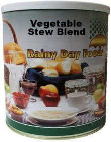 Rainy Day Foods dehydrated vegetable stew blend #10 can