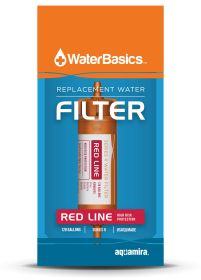 WaterBasics red replacement filter package