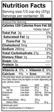 nutrition banana muffin