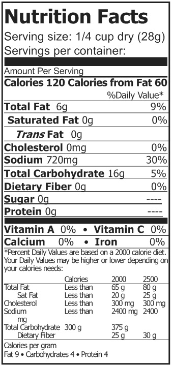 stroganoff gravy nutrition facts