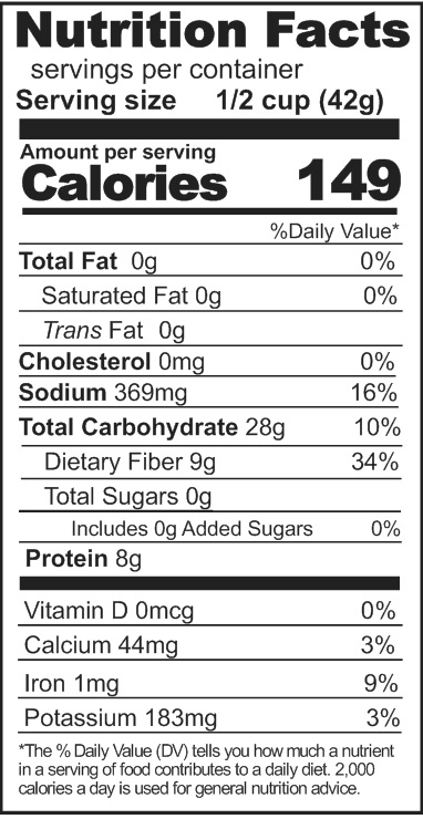 refried beans nutrition